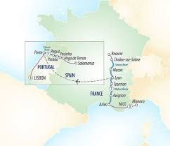 Arles France Map by Nice To Lisbon Douro U0026 Southern France River Cruise Evergreen Tours