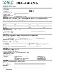 best photos of medical billing forms sample medical billing
