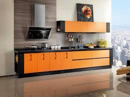 Orange Kitchens Ideas Perfect Orange Kitchen Cabinet Ideas Decorate Orange Kitchen