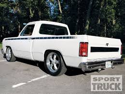 1990 dodge ram 1500 1990 dodge d150 custom truck muscled trucks sport truck magazine