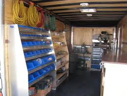 enclosed trailer interior light kit 102 best contractor trailer ideas images on pinterest tool storage