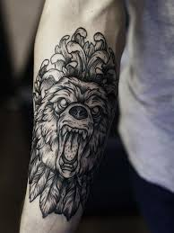 collection of 25 tribal wolf on right biceps for guys