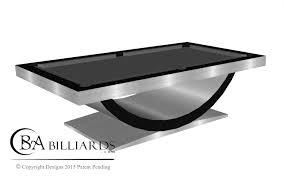 modern billiard table halo contemporary pool tables modern pool tables custom pool