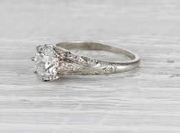 wedding rings vintage vintage solitaire engagement rings erstwhile jewelry