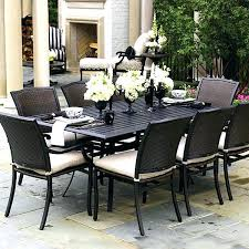 patio furniture 7 dining set impressing patio furniture dining sets lovely set and low country