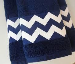 Chevron Bathroom Ideas Beautiful Blue And White Striped Bath Towels Striped Bathroom