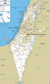 Dead Sea Map Detailed Clear Large Road Map Of Israel Ezilon Maps
