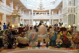 easter egg display photo tour the 2014 grand floridian resort easter egg display in