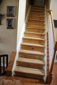 Finish Stairs To Basement by Interior Finish Basement Stairs With Regard To Breathtaking