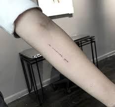 quote script tattoos