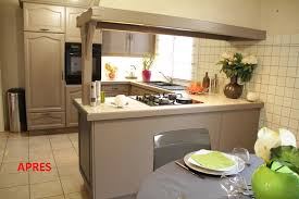 cuisine peinte rénov cuisine le nouveau concept déco syntilor pour rénover votre