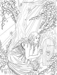 fairy mermaid coloring pages 301 best coloring realistic people images on pinterest coloring