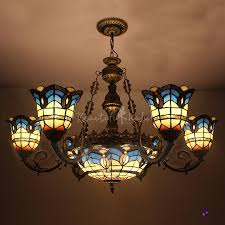 tiffany style ls ebay stained glass chandelier massagroup co