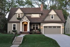 Cottage Style Garage Doors by Craftsman Style Garage Doors Exterior Traditional With Entry Driveway