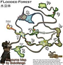 Resource Map Image Forest Resourcemap Png Monster Hunter Wiki Fandom