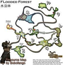 Resource Map Image Forest Resourcemap Png Monster Hunter Wiki Fandom