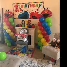 elmo party favors elmo birthday balloons decorations elmo party decorations diy