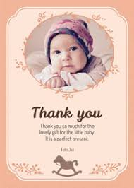 baby thank you cards baby thank you cards make custom baby thank you cards online