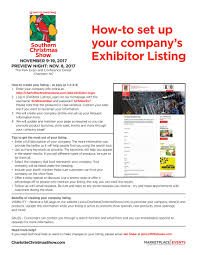 home design and remodeling show discount tickets exhibitor kit southern christmas show