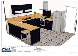 cuisine plan de travail bois votre avis sur plan de travail avec une cuisine noir 16 messages