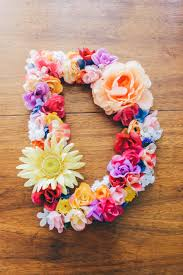 floral springtime diy accent letter u2013 potpurrri