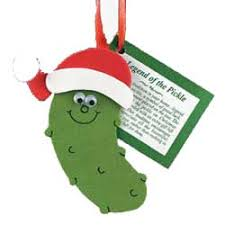 christmas pickle christmas pickle ornaments made of glass crafts