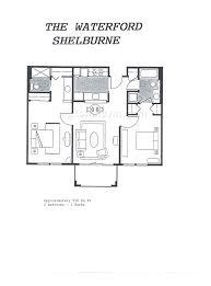 waterford residence floor plan rossmoor floorplans