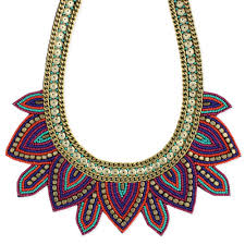 multi bead necklace images Wholesale multi bead fan bib necklace zad fashion costume jpg