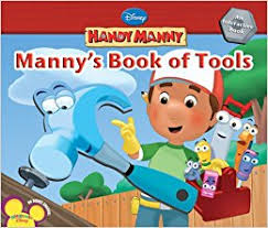 amazon handy manny manny u0027s book tools 9781423109945