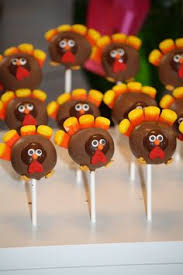 thanksgiving turkey cake pops bootsforcheaper