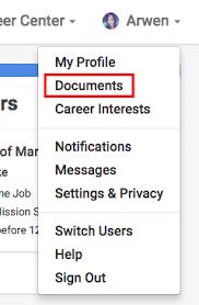 Jobs180 Resume How To Upload A New Document U2013 Handshake Help Center