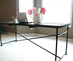 bureau de style bureau metal bois bureau bois metal mal grand blanc bim a co le