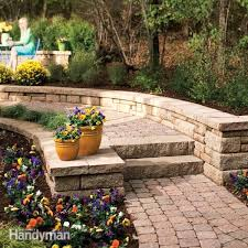 Backyard Walking Paths How To Build A Stone Path And Steps Family Handyman