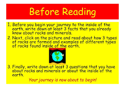 ppt the magic bus inside the earth a cyberlesson by