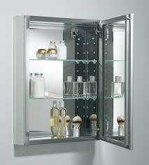 kohler mirrored medicine cabinet k cb clw2026ss kohler 20 x 26 aluminum mirrored medicine cabinet