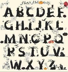 happy halloween alphabet bootsforcheaper com