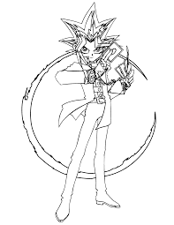 coloring page yu gi oh coloring pages 56 color yu gi oh yu