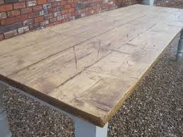 reclaimed oak table top bespoke metal wood tables benches handmade in the uk