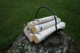amazon com white birch log set for fireplace arts crafts u0026 sewing