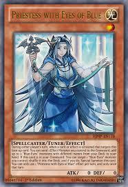 priestess with eyes of blue yugioh ocg by yeidenex on deviantart