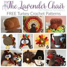 free turkey crochet patterns the lavender chair