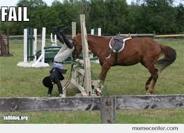Horse Riding Meme - horseback riding fail by ben meme center