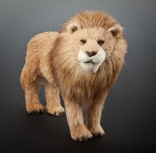 lion figurine resin animal figurines