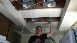 Installing Pot Lights In Insulated Ceiling How To Install Recessed Lighting In Existing Insulated Ceiling