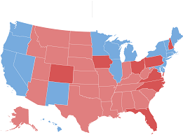 National Election Results Map by The Electoral Map Looks Challenging For Trump The New York Times