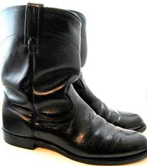 mens leather motorcycle riding boots l chisholm men motorcycle biker western cowboy boots size 9 5 d