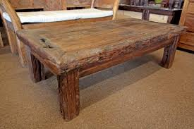Unique Rustic Coffee Tables 2018 Popular Rustic Teak Coffee Table The Great Furniture