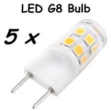 pin lights for kitchen g8 led light bulb 2w bi pin g8 base led crystal l replace 20w