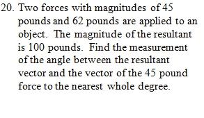 vector worksheet pdf with key focuses on resultant vectors 25