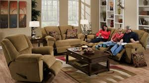 Beige Reclining Sofa 2 Reclining Sofa Set In Beige Fabric By Catnapper 19445 2